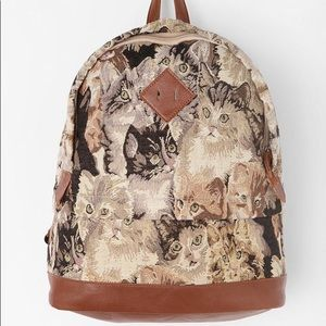 Kimchi Blue Cat Tapestry Backpack